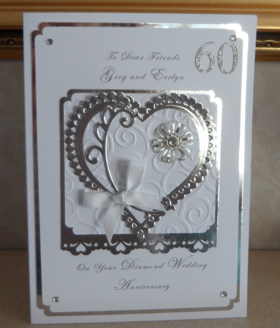 Diamond Wedding Anniversary Gift Ideas Uk : Caroles Own: Diamond Wedding Anniversary