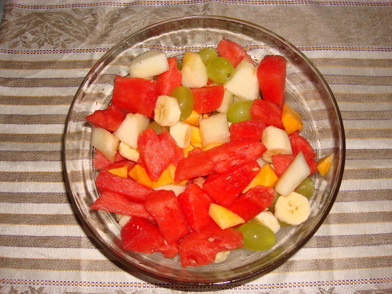Las recetas de la mami macedonia de frutas - Macedonia de frutas thermomix ...