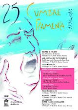 25 CUMBRE FLAMENCA DE MURCIA - TEATRO ROMEA 9 Y 10 TEATRO CIRCO 16, 17 Y 18 FEBRERO 2018