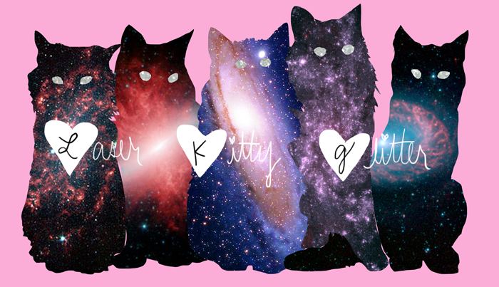Laser Kitty Glitter