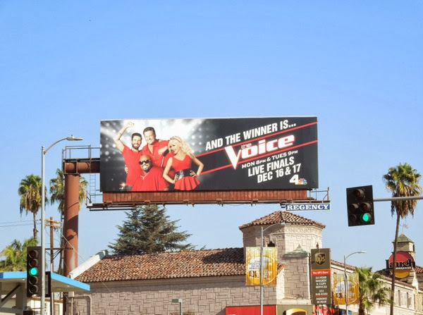 Voice season 5 finals billboard