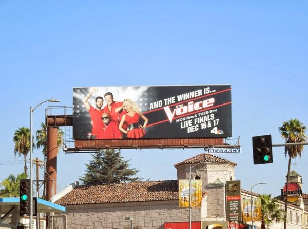 Voice season 5 finals billboard