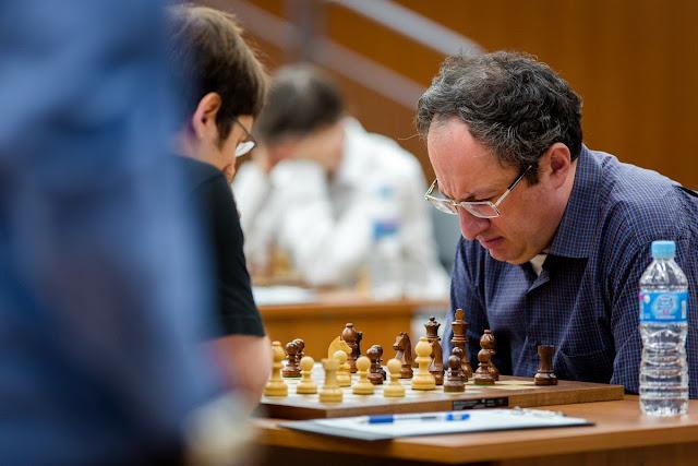 Grand Prix Khanty-Mansiysk. Boris Gelfand.