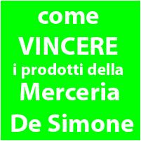 Come partecipare ai Concorsi della Merceria De Simone