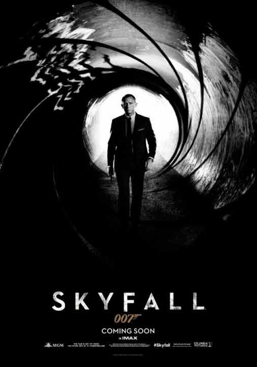 Skyfall hd movie poster