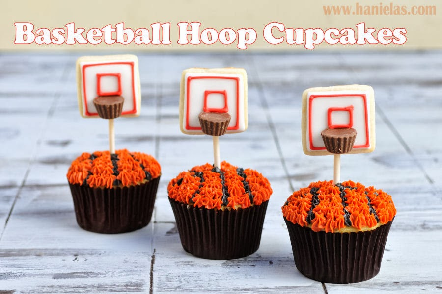 Haniela 39 s how to make basketball hoop cupcakes for How to build a basketball goal