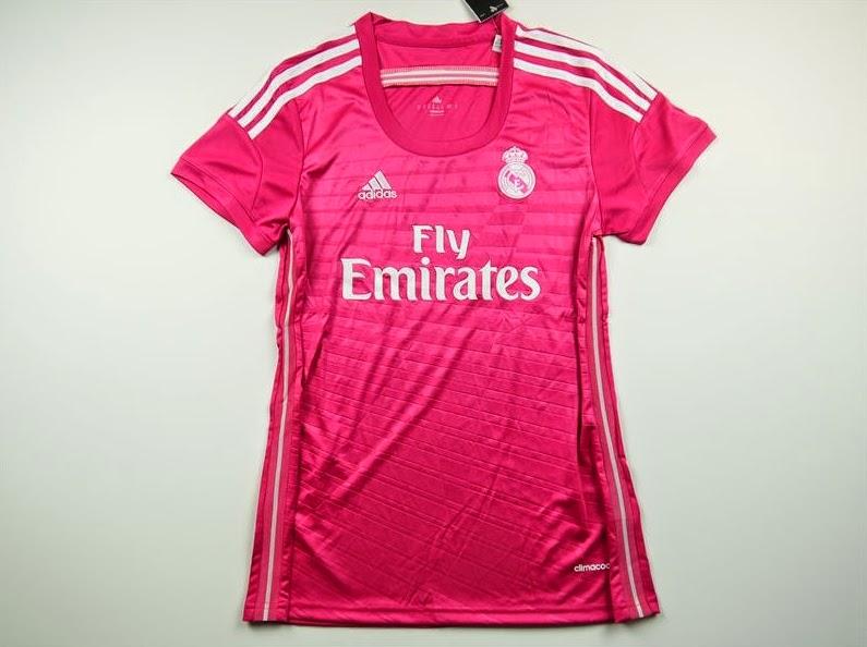 Jersey GO Real Madrid Away Ladies Inport Thailand Musim Baru 2015