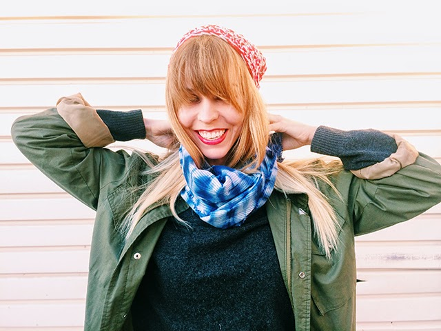 sunbleached scarf, shirbori, hand-dyed, indigo, fall scarf