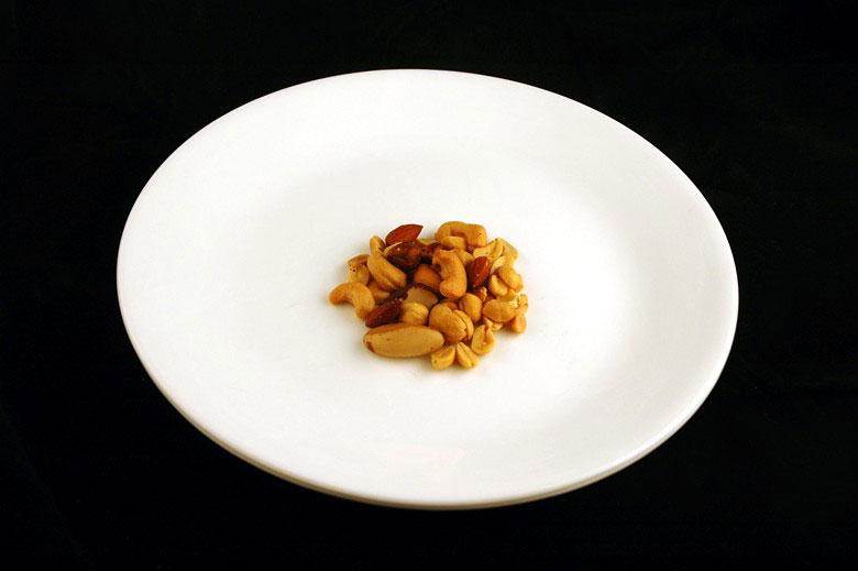 Así es como se ve 200 calorías de diversos alimentos cotidianos