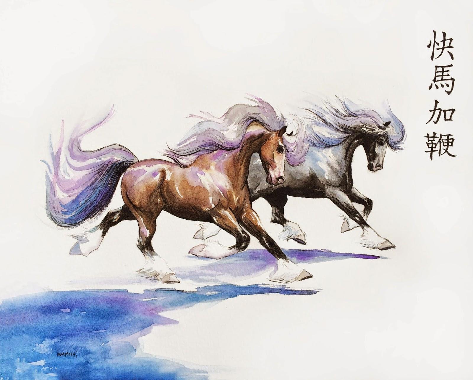 Cool   Wallpaper Horse Watercolor - AlaskArtEtsy  HD_85837.jpg