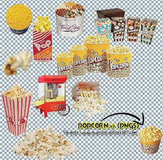 pipoca popcorn png photofiltre studio