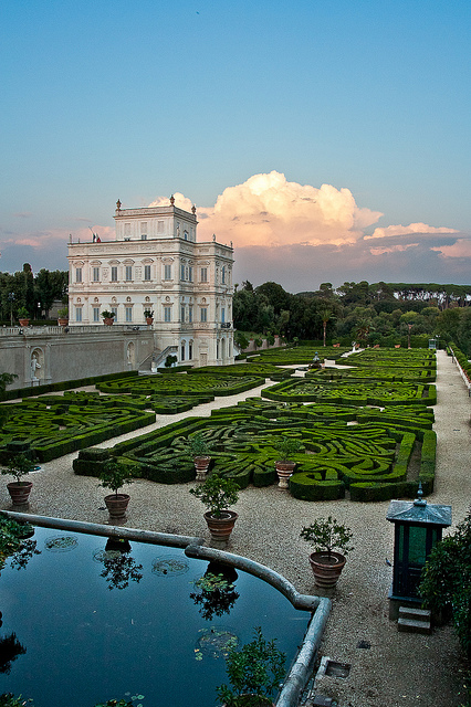 Villa Pamphilj e sui giardini: visite guidate Roma: 14/04/2013