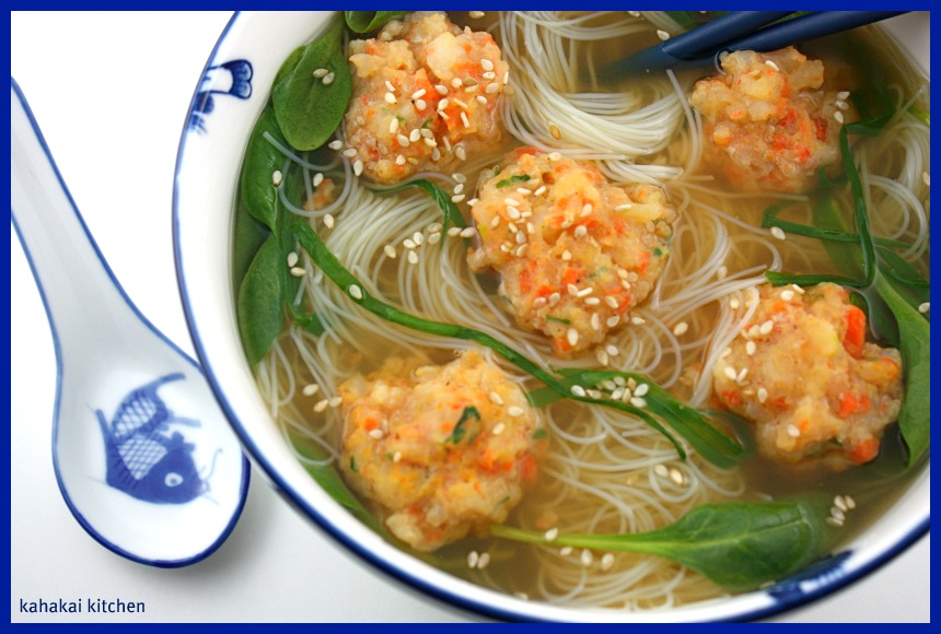 "... Shrimp Ball Soup and a Cookbook Review of ""I Love Meatballs!"" b..."