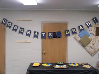 Congrats Grad paper banner