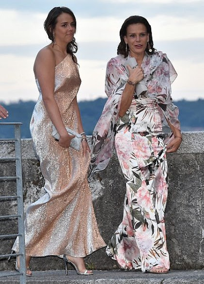 Princess Stephanie of Monaco and Pauline Ducruet
