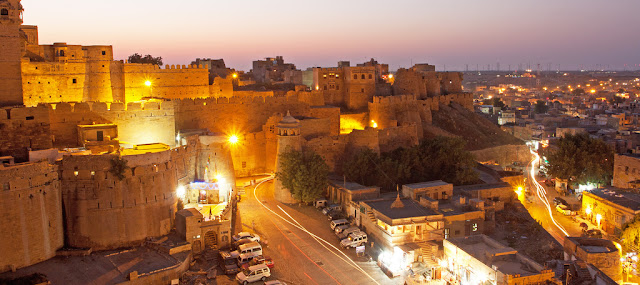 Jaisalmer Fort in Rajasthan India