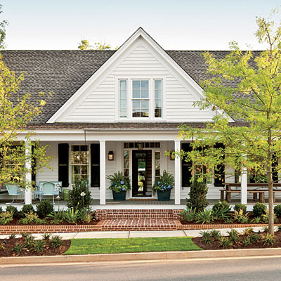Andrew barnes lifestyle southern living 39 s 2012 idea house for Southern farmhouse