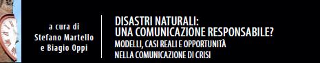 Disastri Naturali: una comunicazione responsabile?