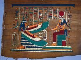 antes del reciaje, historia del papel. Papiro egipcio; medio de almacenaje de la información y de comunicación