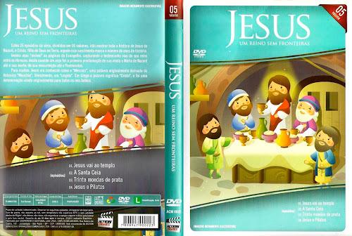 Jesus - Um Reino Sem Fronteiras Vol. 5 - DVD-R