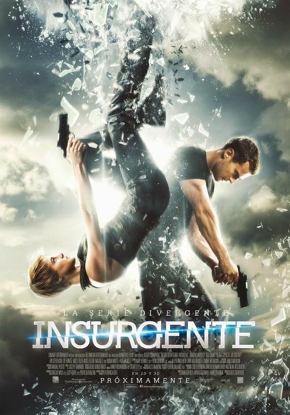 Póster de La serie Divergente. Insurgente