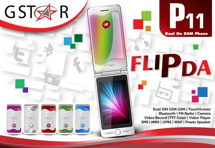 Gstar P11 Flip Edition