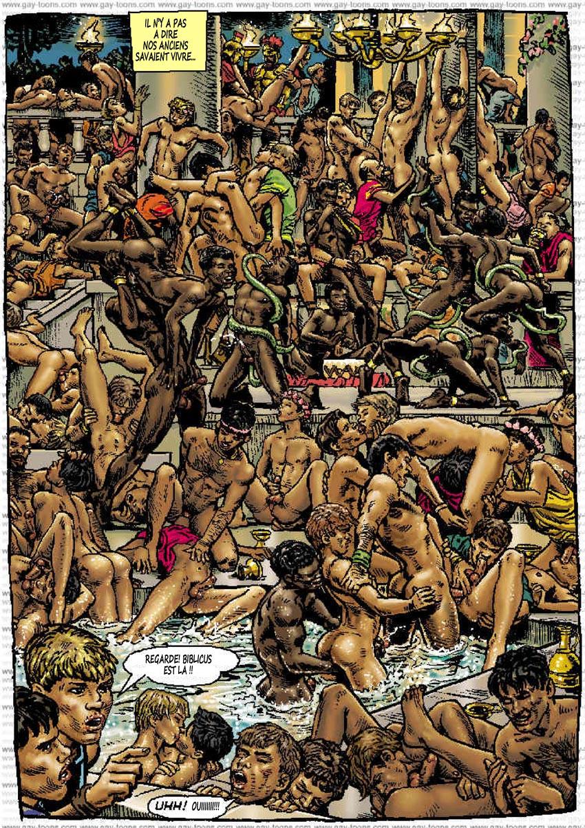 Peplum Gay et bande dessinée