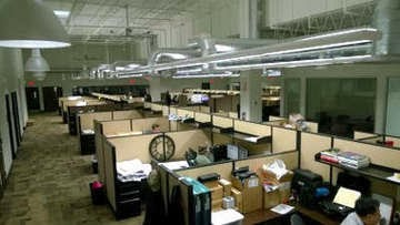 PTS cutting edge office environment