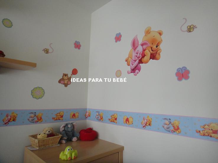 PEGATINAS INFANTILES: DECORAR LAS PAREDES DE LA HABITACION ...