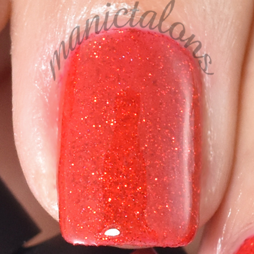 Pink Gellac Ultimate Red Swatch