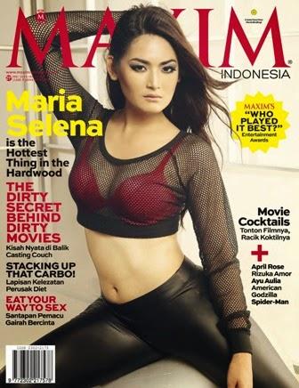 Maria Selena  MAXIM Indonesia Magazine Edisi Mei 2014