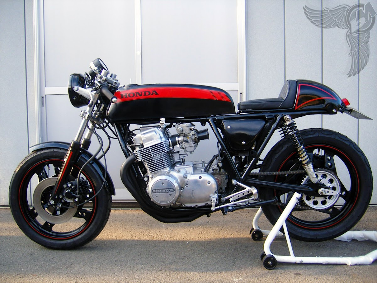 honda cb750 cafe - left | rocketgarage