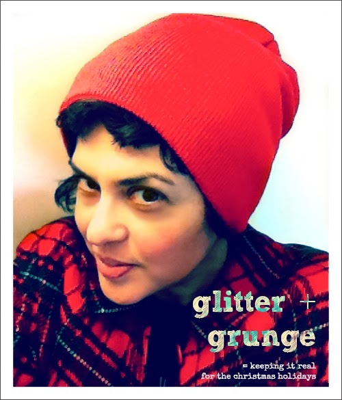 Glitter Grunge: Christmas Plaid, Seattle Style
