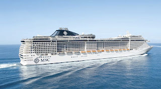 MSC Cruises MSC Divina, Christening in Marseille, France, on May 26, 2012