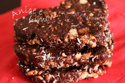 San Valentino: salame di cioccolato crudista