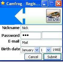 Camfrog Register