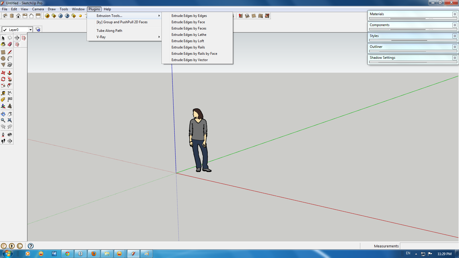 C i t plugin trong sketchup for Mirror in sketchup