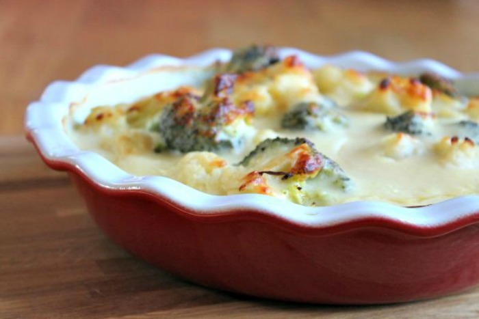 Cauliflower and Broccoli Cheese /></a></div><br /> <div style=