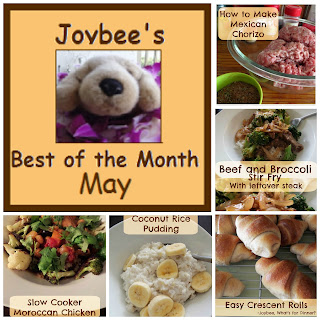 Best of the Month May 2015:  A recap of my most popular posts from last month (May 2015).