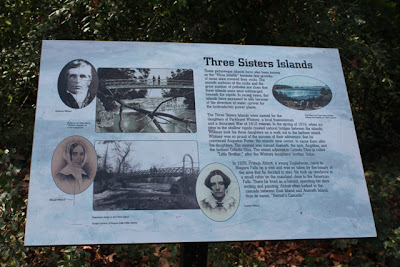Three Sisters Island Plaque