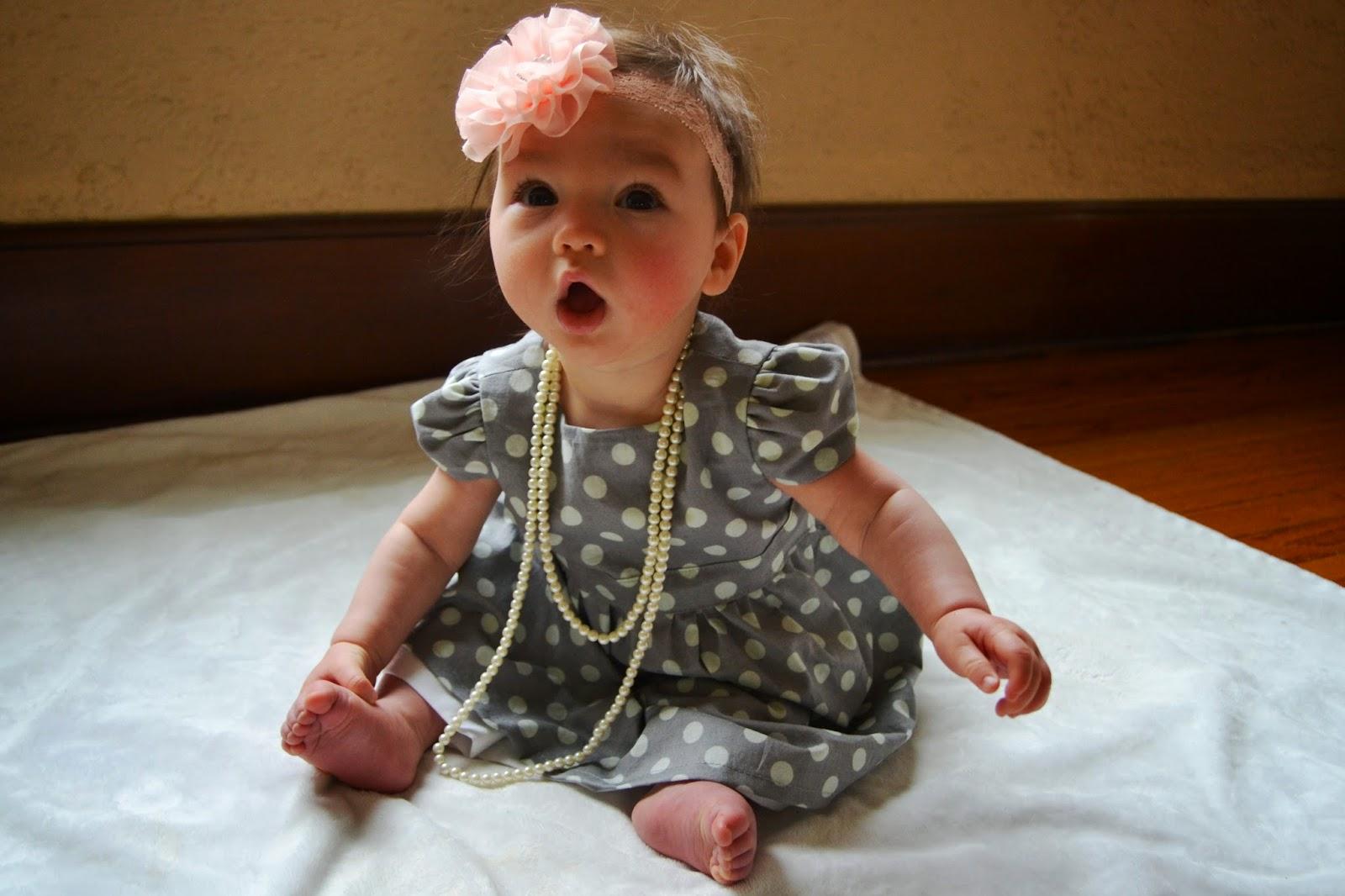 Lucy Lemon handmade baby dresses