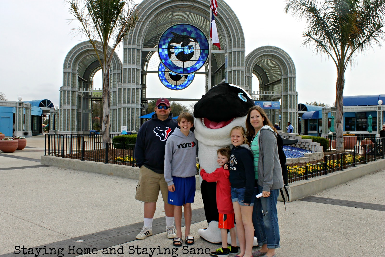 Seaworld san antonio family fun yes even with a teenager in tow