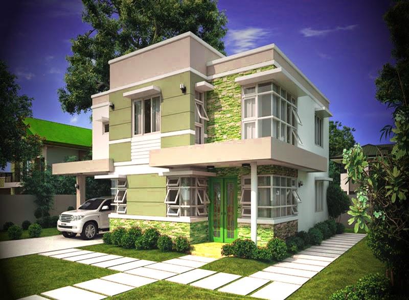 model gambar rumah mewah minimalis pinoy