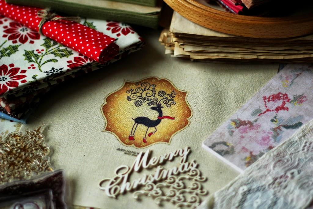 состаренный блокнот, подарок на новый год