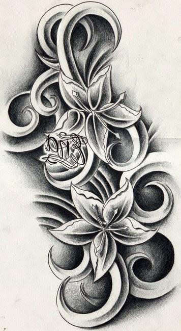 Tatuajes para Mujeres, Flores, parte 3
