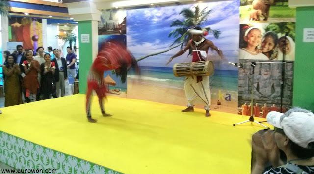 Actuación de Sri Lanka