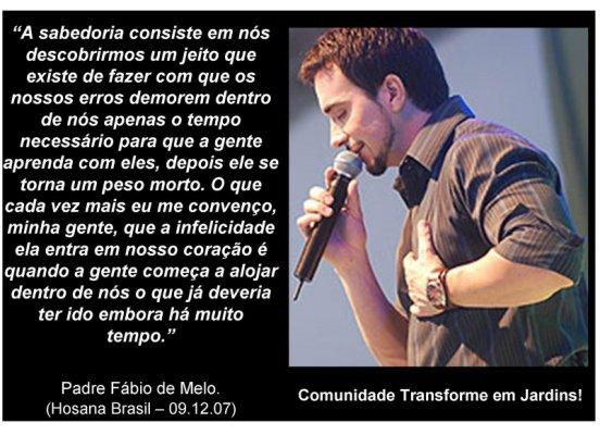 A Sabedoria Padre Fabio De Melo Escrever Descrever