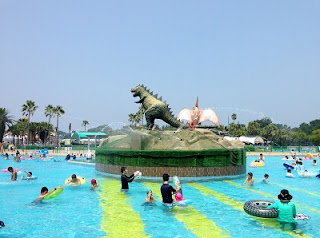 Dinosaur Fountain Pool