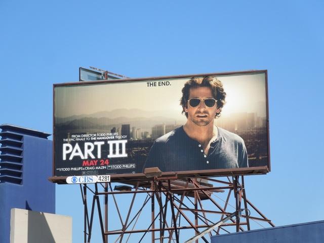 Bradley Cooper Hangover III billboard