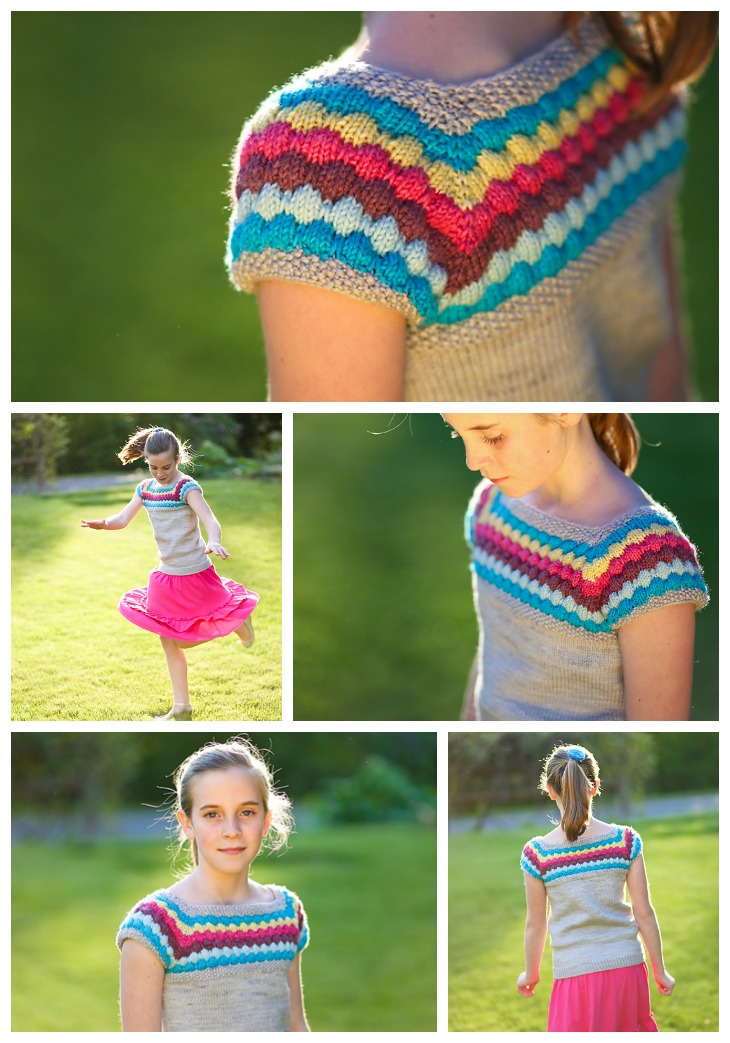 Sourpatch pattern knit by BetsyJo